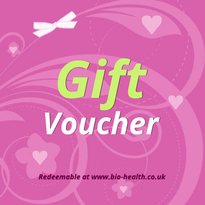 Online gift voucher from bio health a gift packed with goodness gift voucher negle Image collections