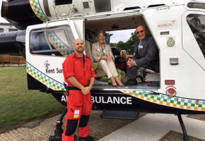 Bio-Health donates 5% of all website sales to KSS Air Ambulance